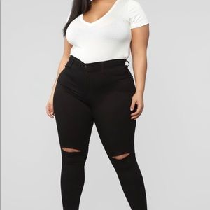 Fashion Nova Canopy Jeans 2x